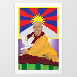 His Holiness Art Print