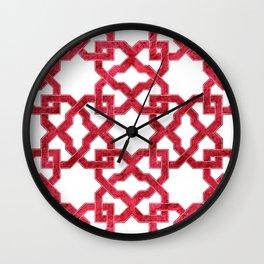 Geometric Pattern - Oriental Design rmx Wall Clock