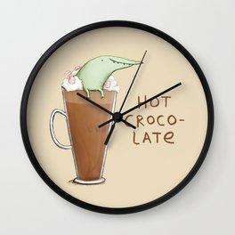 Hot Crocolate Wall Clock