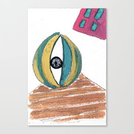 Eye ball Canvas Print