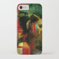 british iPhone & iPod Cases featuring Under a British rain by Ganech joe