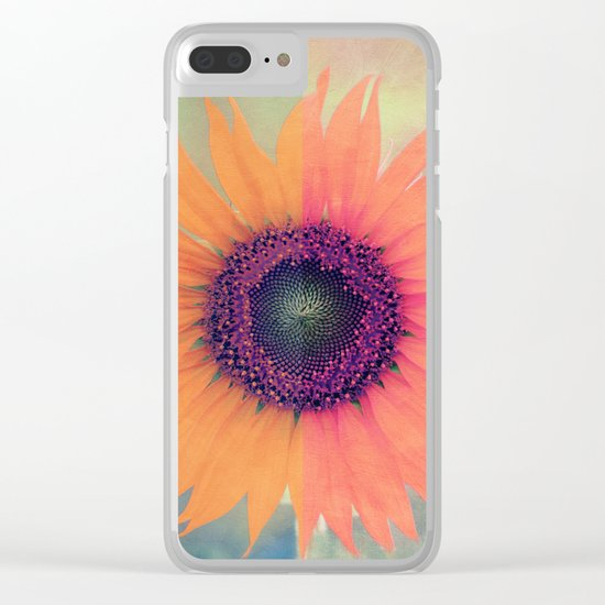 Flower I Clear iPhone Case