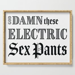 Electric Sex Pants Serving Tray