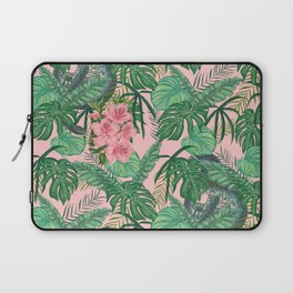 Serpents and Flowers Laptop Sleeve