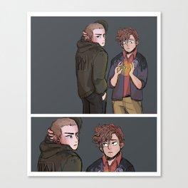 Ronan and Gansey Canvas Print