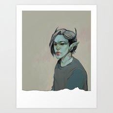 Monster #2 Art Print
