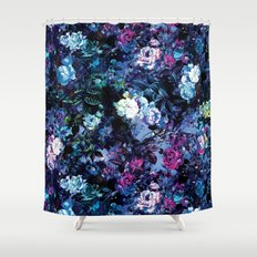 RPE FLORAL X Shower Curtain