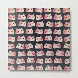 cats-144 Metal Print