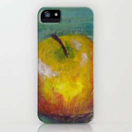 Lilly Paints: Apple #3 iPhone Case