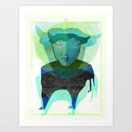 Taurus / Aldebaran / Zodiac Art Print