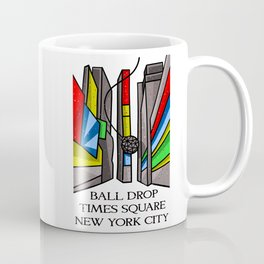 Ball Drop Times Square Coffee Mug