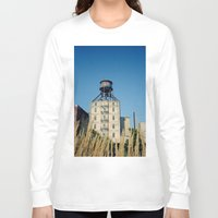 portland Long Sleeve T-shirts featuring Portland by Richard PJ Lambert