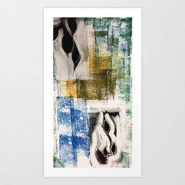 Mo'print 1 Art Print