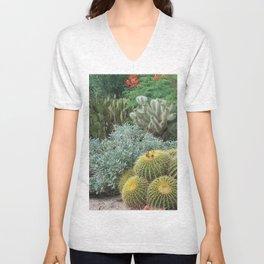 Cactus Garden #1 Unisex V-Neck