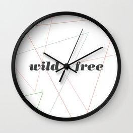 wildfree Wall Clock
