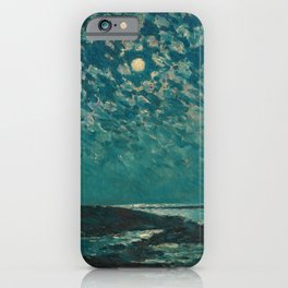 Classical Masterpiece 'Isle of Shoals' Rhode Island by Frederick Childe Hassam iPhone Case