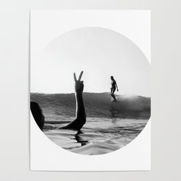 Surfing Days Poster