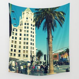 hollywood boulevard Wall Tapestry
