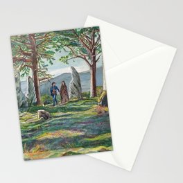 Craigh na dun (Outlander) Stationery Cards
