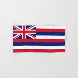 Flag of Hawaii, High Quality image Hand & Bath Towel