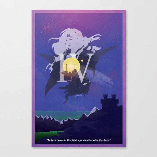 Vintage FF Poster IV Canvas Print