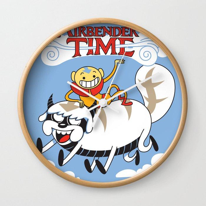Airbender Time Wall Clock