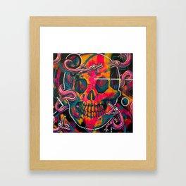 ROSE CRÂNE #1 Framed Art Print
