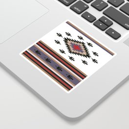 American Native Pattern No. 135 Sticker