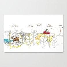 'CANADA' PART 5 OF 10* Canvas Print