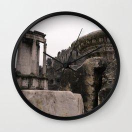 Roman Forum Wall Clock