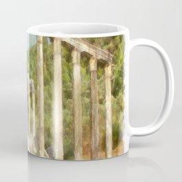Euromos Ruins Watercolor Coffee Mug