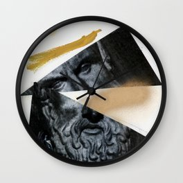 Untitled (Painted Composition 12) Wall Clock
