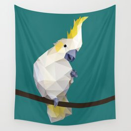 Cockatoo. Wall Tapestry