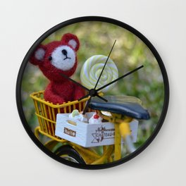 Toys - A cool sunset Wall Clock