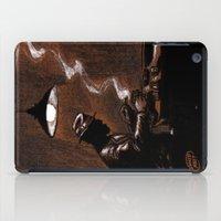 bar iPad Cases featuring Noir Bar by David Miley