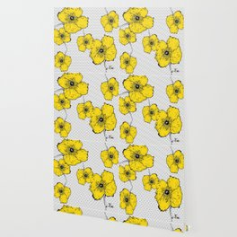 Yellow poppy Wallpaper