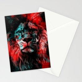 Lion wild cat #lion Stationery Cards