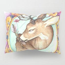 Trophy: Abstract Mounted Deer Pillow Sham