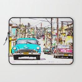 Cuba , calle de La Habana  ( Cuba , Havana street ) Laptop Sleeve