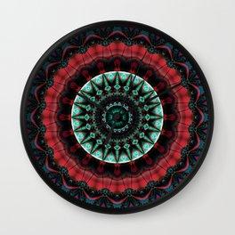 mandala perfection no. 2 Wall Clock
