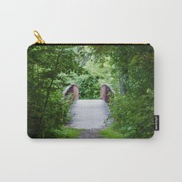 Forest Bridge Carry-All Pouch
