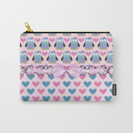 Girl Owls Always Love You Carry-All Pouch