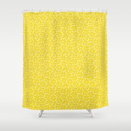 Lemon Slices Shower Curtain
