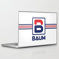 tenenbaum Laptop & iPad Skins featuring Richie 'Baum' Tenenbaum T-Shirt by Tabner's