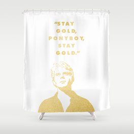 Look to the Futura Shower Curtain
