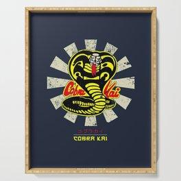 Karate Kid Cobra Kai Retro Serving Tray