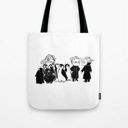 Ghost in the South Pole Tote Bag