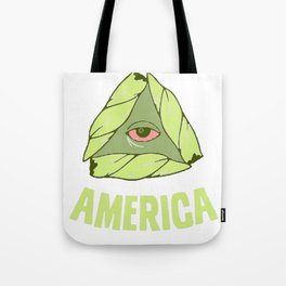 BAKE UP AMERICA T-SHIRT Tote Bag
