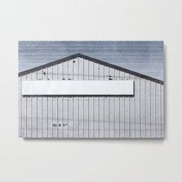 Warehouse - Industrial Minimalism Metal Print