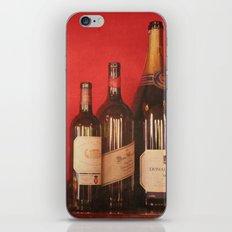 Wine on the Wall iPhone & iPod Skin